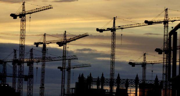 Past Cranes over Dublin