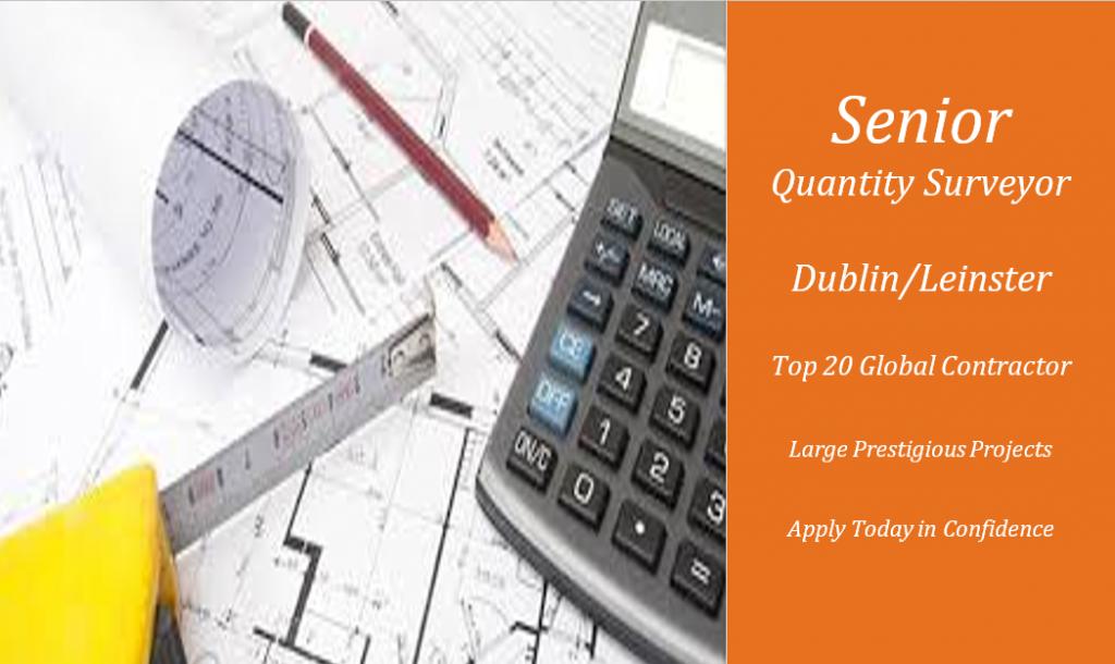 Senior Quantity Surveyor | Leading Contractor - Oradeo